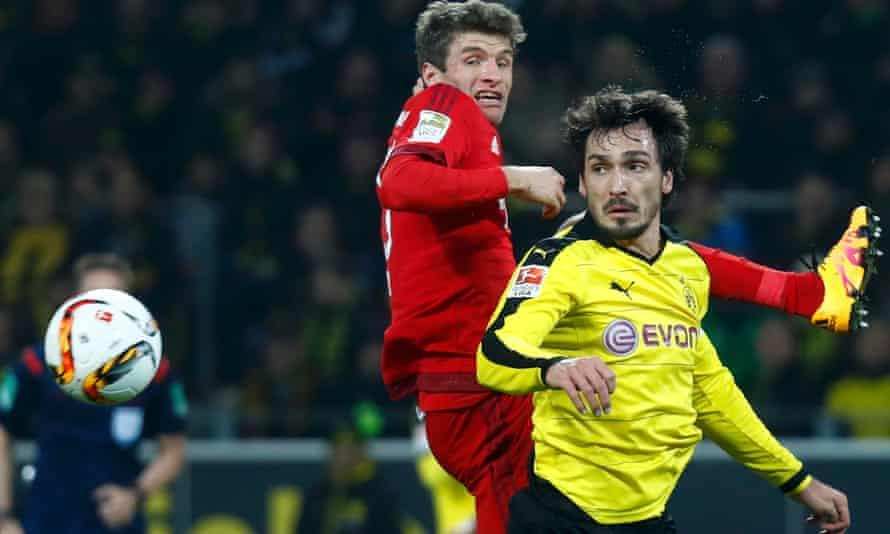 Borussia Dortmund v Bayern
