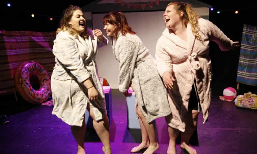 Finding joy in your body … The Roaring Girls in Beach Body Ready.
