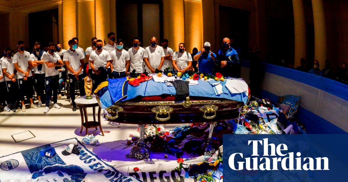 Diego Maradona lawyer vows legal action over funeral workers selfie