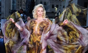 Gwendoline Christie attends the Game Of Thrones Season 8 premiere in New York