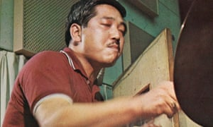 Drummer George Otsuka.