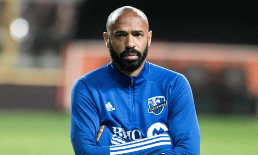 Thierry Henry recently stepped down as CF Montréal coach for family reasons.