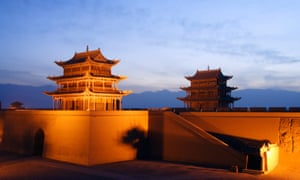 Jiayuguan Fort, in Gansu, China. 'Strategic moves such as the Great Wall should be regarded as a means to maintain a balance ... and certainly not a way to strangle one's opponent to death through force,' says Dong Yaohui.