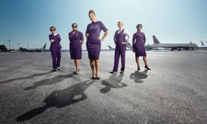 Delta's new uniforms were unveiled last May.