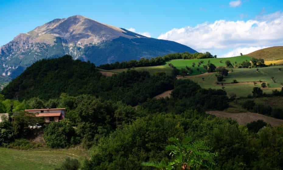 Mountains around Campli, Abruzzo