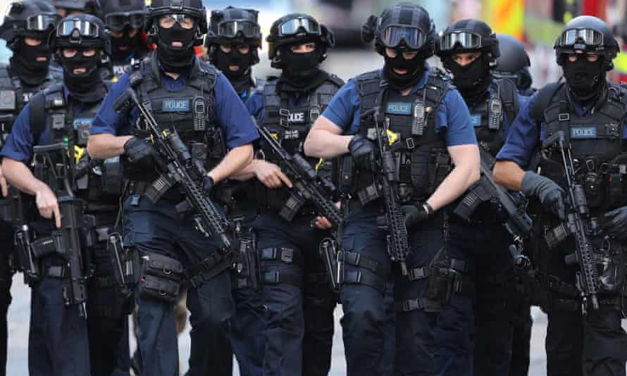 Counter terrorism officers London