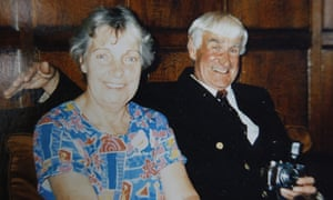 June Findlater's father, with her mother.