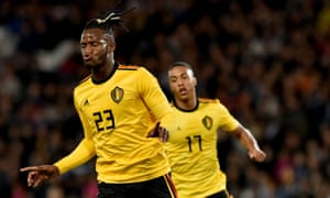Michy Batshuayi, left, and Youri Tielemans have both been in the headlines on a busy transfer deadline day.