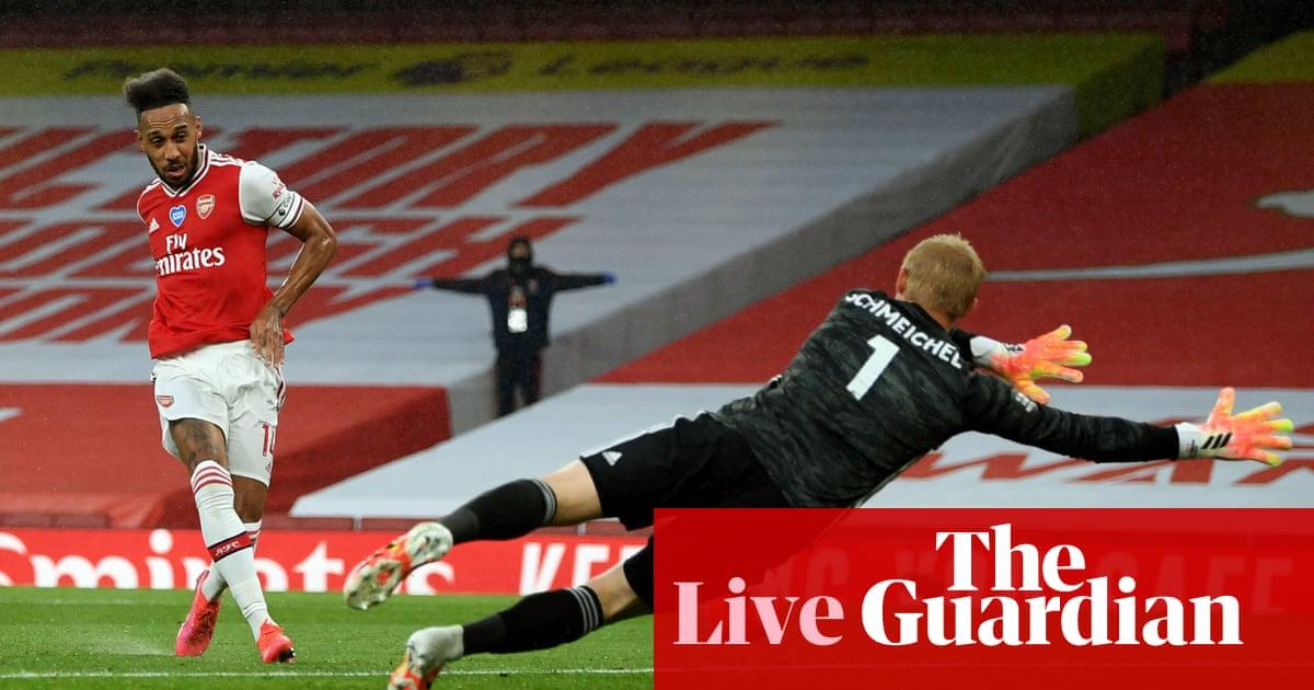 Arsenal v Leicester City: Premier League –live!