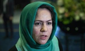 Afghan politician Fawzia Koofi