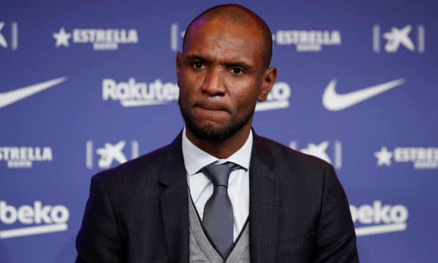 Messi said of Eric Abidal: 'I couldn't let the sporting director attack me in that way.'