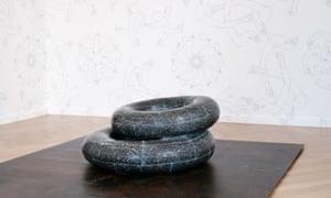Ai Weiwei Tyre, 2016, marble.