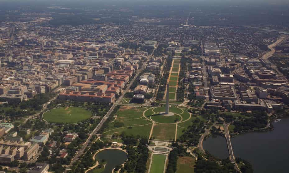 The National Mall in Washington DC.