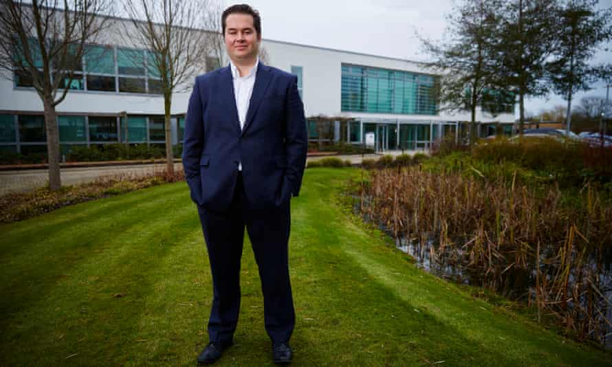 'We've got a lot of young people who work for us' … Lyle McCalmont, CEO of software company Leighton.