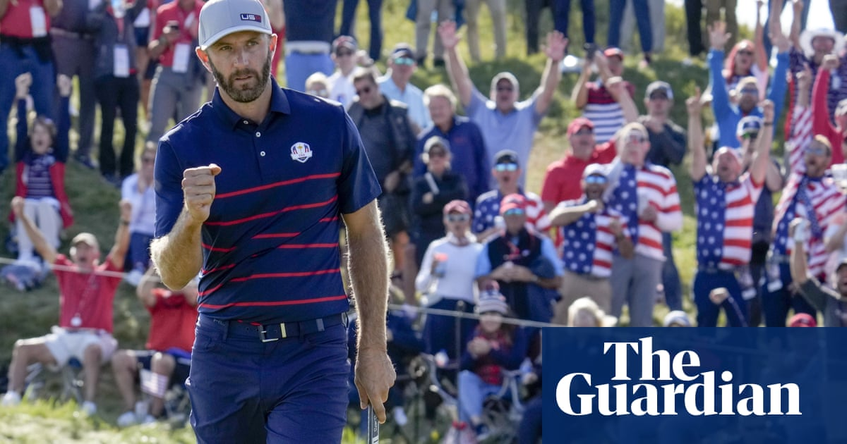 Ryder Cup: Europe left with mountain to climb as USA dominate first day