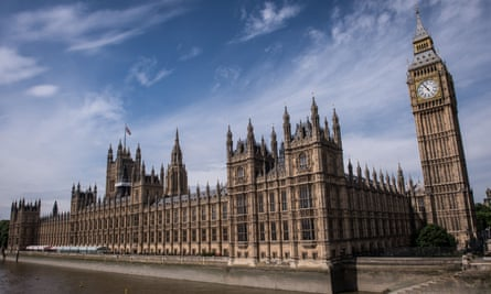The Palace of Westminster. The debate motion on the Evel proposals was defeated by a majority of 291 to 2, after the government abstained.