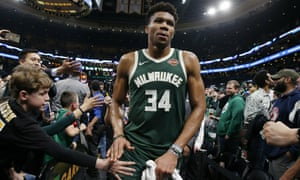 Giannis Antetokounmpo is a strong candidate for this season's MVP award