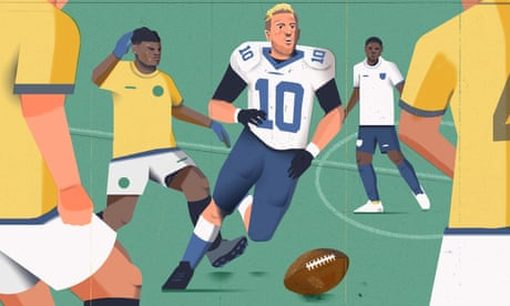 'The guys I've tried failed miserably': could Harry Kane really make the NFL?