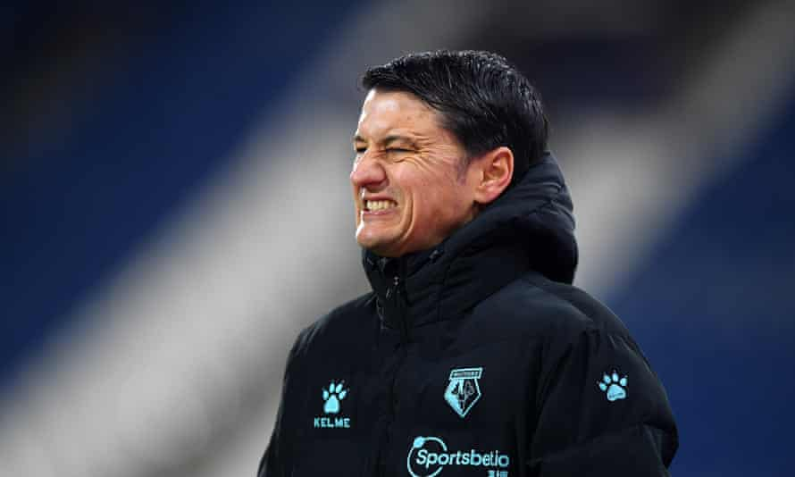 Vladimir Ivic was dismissed after Watford's 2-0 defeat at Huddersfield in the Championship