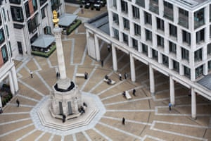The London Stock Exchange Group Plc's offices in Paternoster Square.