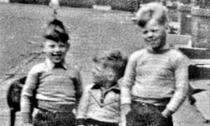 Alan Bennett with brothers Ian and Keith