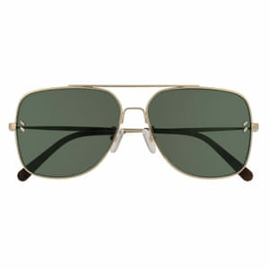 Editor's pick: this timeless gold aviator style will see you through the summer and into several seasons beyond Aviator, £200, stellamccartney.com