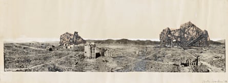 Arata Isozaki's 'Re-ruined Hiroshima' … 'Whenever you draw up a project plan with the intention of it being realised, you have to accept that it will eventually be annihilated.'