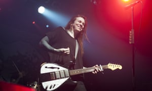 Misfit anthems in the age of Trump … Laura Jane Grace of Against Me! at the Electric Ballroom.