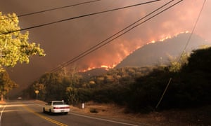 About 157,000 people in Los Angeles and Ventura counties have been evacuated due to two fires in the region.