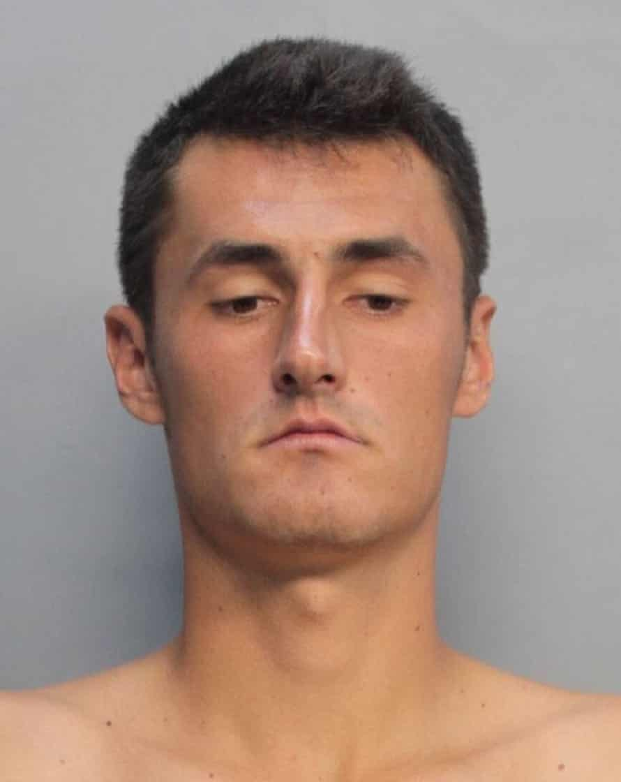 The mug shot released by police.