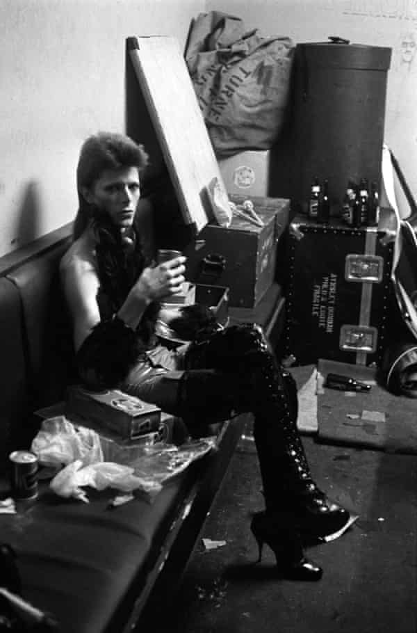 Farewell Ziggy … Stardust's final outing, for an NBC late-night show in London, 1973.