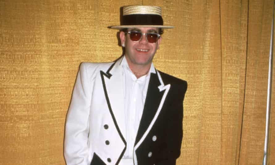 Elton John in 1984.