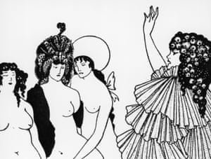 On a sex strike to stop war … a detail from Lysistrata Haranguing the Athenian Women.