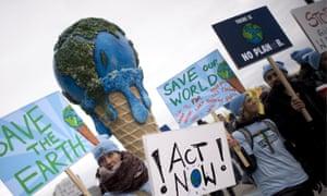 environmental protestors