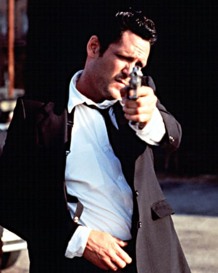 Michael Madsen in Reservoir Dogs.