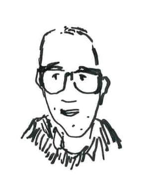 Ken Krimstein self-portrait.