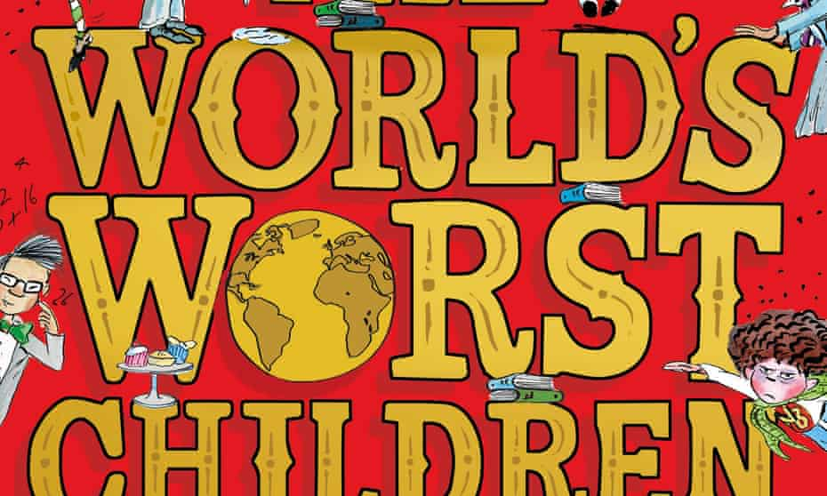 Cover of The World's Worst Children, with character Brian Wong, left.