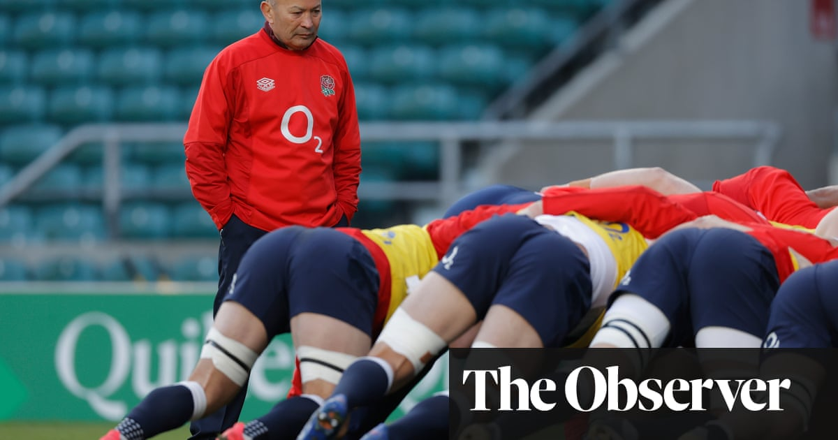 Standout candidate: Eddie Jones on Ed Robinsons England coaching role