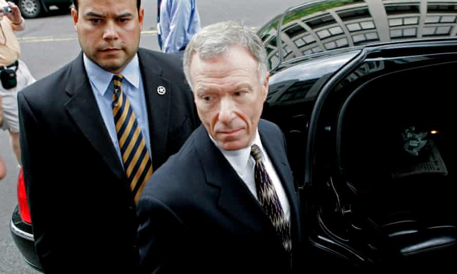 Lewis 'Scooter' Libby, former chief of staff to Dick Cheney, departs federal court in 2006.