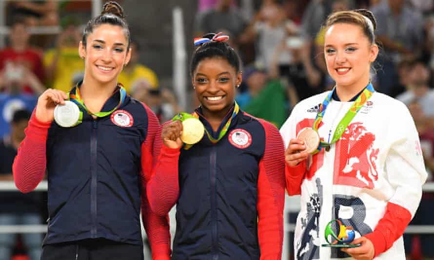 Aly Raisman (left) was highly critical of USA Gymnastics' handling of the case