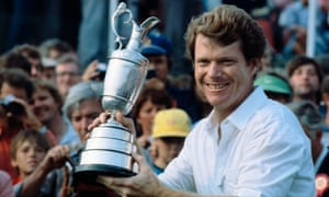 Watson lifts the Claret Jug for the fifth time