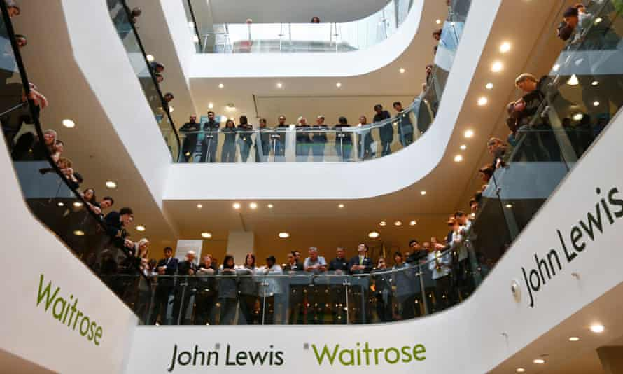 In more profitable years, employees have waited for the bonus announcement at the flagship John Lewis store in central London.