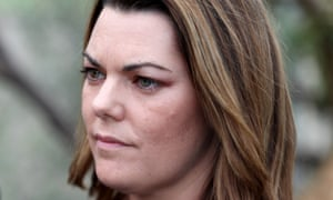 Speaking at a protest against drilling by Norwegian company Equinor, Sarah Hanson-Young says 'we don't want oil washing up on our beautiful beaches'.