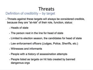 Credible Violence 24