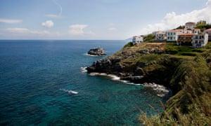 The Greek island of Ikaria