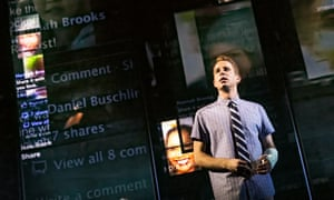 'The stakes are never as high again as it feels when you're at that age' ... Ben Platt in Dear Evan Hansen