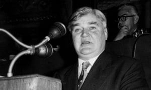 Nye Bevan … he was the chief architect of the NHS, which become the undisputed symbol of postwar Britain.