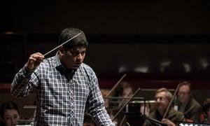 Alpesh Chauhan with the City of Birmingham Symphony.