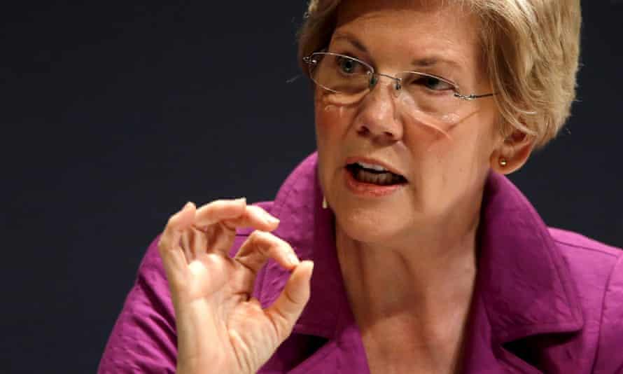 Elizabeth Warren: a Massachusetts senator, progressive firebrand and possible VP pick.