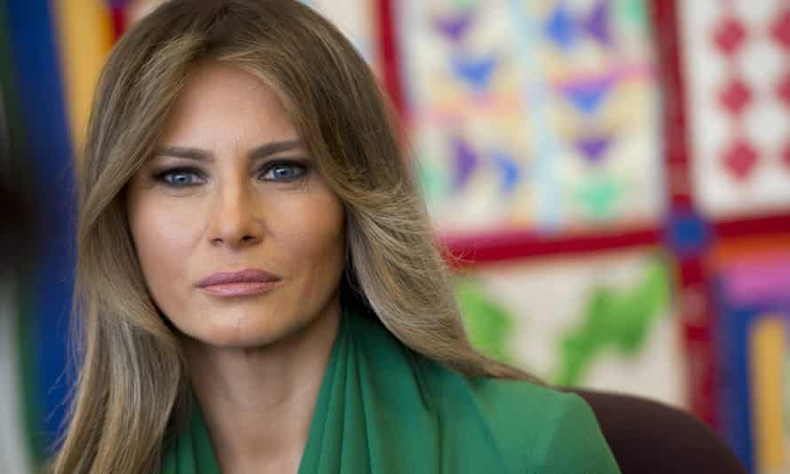 'Missing Melania': the long absence of the first lady prompted numerous conspiracy theories.